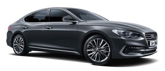 동승석 `무중력 중립자세`… 현대車, 2019년형 그랜저